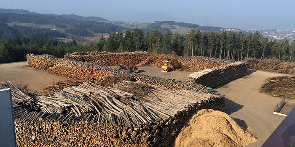 Stock de bois